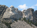 Afternoon at Mount Rushmore Royalty Free Stock Photography