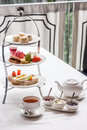 Afternoon tea a traditional english Royalty Free Stock Image