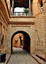 Agadir medina archway city morocco landmark arab Stock Image