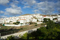 Agaete gran canaria panorama of a small town on the west coast of spain Royalty Free Stock Image