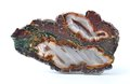 Agate with natural colors Royalty Free Stock Photo