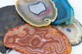 Agate Pieces Royalty Free Stock Photo