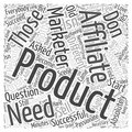15 Age Old Question Do You Need to Have Your Own Product word cloud concept  background Royalty Free Stock Photo