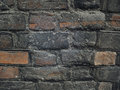 Aged brick wall indrustial background Stock Image