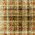 Aged checkered background. Stock Images