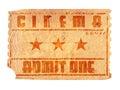 Starý kino vstupenka