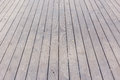 Aged gray wooden terrace floor background old Royalty Free Stock Photo