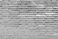 Aged grunge white brick wall texture as background Royalty Free Stock Photo