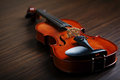 Aged handmade violin Royalty Free Stock Photos