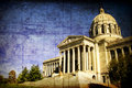 Aged Missouri State Capital Stock Photo