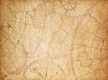 Aged pirates treasure map background Royalty Free Stock Photo