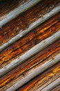 Aged tinted wood panel texture Royalty Free Stock Images