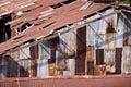 Aged warehouse Royalty Free Stock Photo