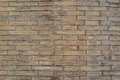 Aged weathered grunge brick wall texture as background Royalty Free Stock Photo