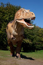 Aggressive T-Rex Royalty Free Stock Photo