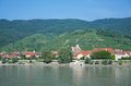 Aggsbach wachau valley austria near and duernstein at danube river Royalty Free Stock Photography