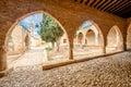 Agia Napa monastery courtyard in Cyprus 5 Royalty Free Stock Photo