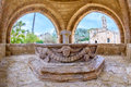 Agia Napa monastery fountain in Cyprus 5 Royalty Free Stock Photo