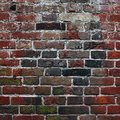 Aging brick wall Royalty Free Stock Photography