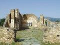 Agios achillios byzantine church at the island of saint Royalty Free Stock Images