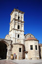 Agios lazaros church larnaca cyprus is a byzantine built by emperor leo vi in the th century st lazarus came to the island Royalty Free Stock Images