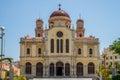 Agios Minas Cathedral Heraklion Royalty Free Stock Photo