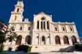 The Agios Minas Cathedral. Heraklion on the island of Crete, Greece. Royalty Free Stock Photo
