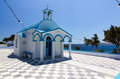 Agios Nikolaos chapel, Pollonia, Milos island, Gre Royalty Free Stock Photo