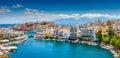Royalty Free Stock Image Agios Nikolaos, Crete, Greece