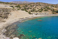 Agios Pavlos beach in Crete island, Greece Royalty Free Stock Photo