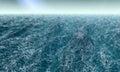 Agitated Ocean Royalty Free Stock Photo