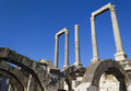 Agora of smyrna in izmir Royalty Free Stock Photography