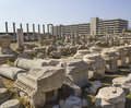 Agora of smyrna in izmir turkey Stock Photography