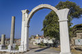 Agora of smyrna in izmir turkey Royalty Free Stock Photos