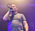 Agoraphobic Nosebleed metal band live concert 2016, Royalty Free Stock Photo