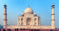 Agra india nov one of the main attractions of india great taj mahal is located in small town Royalty Free Stock Photography