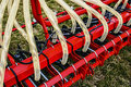 Agricultural equipment. Detail 2 Royalty Free Stock Photo