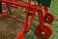 Agricultural equipment. Detail  Royalty Free Stock Images