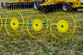 Agricultural equipment. Detail 4 Stock Images