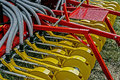 Agricultural equipment. Details  Stock Photos