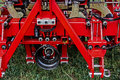 Agricultural equipment. Details  Royalty Free Stock Photography