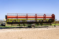Agricultural irrigation auto machinery country rural farm Stock Image
