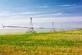 Agricultural irrigation system Royalty Free Stock Photo