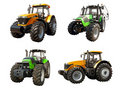 Agricultural tractors Royalty Free Stock Images