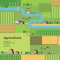 Agriculture background rural life and template of for your design Royalty Free Stock Images