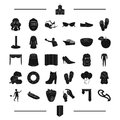Agriculture, clothing, sports and other web icon in black style. tools, equipment, atelier, Furniture icons in set