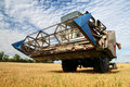 Agriculture - Combine Royalty Free Stock Photo
