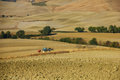 Agriculture en Toscane Photos stock