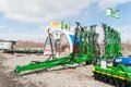 Agriculture equipment on exhibition tyumen russia april iv tyumen specialized agricultural machinery and demonstration of Royalty Free Stock Photography