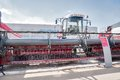 Agriculture machinery exhibition in Tyumen. Russia